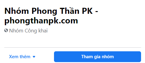 nhom groups phong than pk